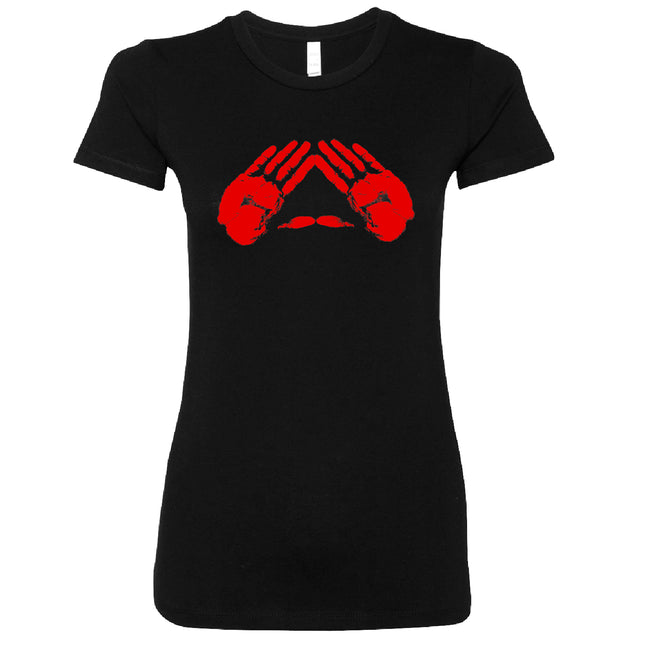 Short Sleeve Red Pyramid Hands Tee