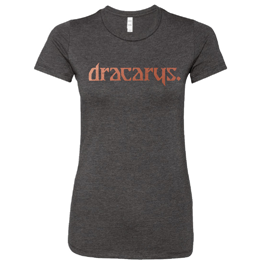 Short Sleeve Dracarys Ladies Tee