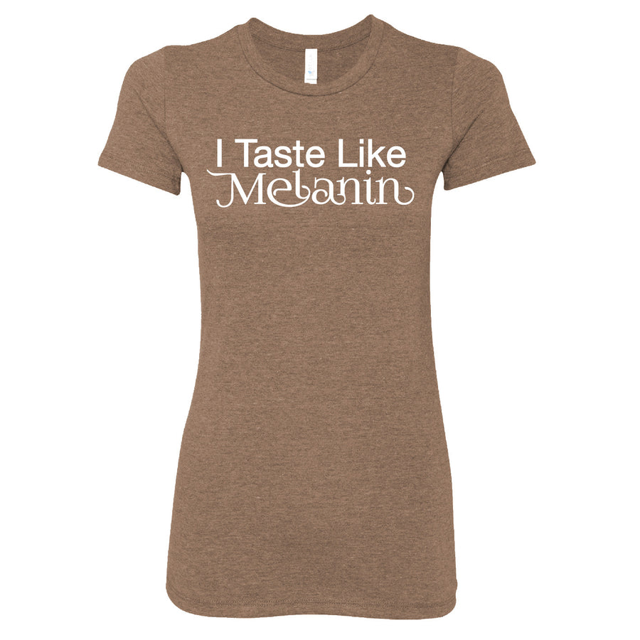 Short Sleeve Taste Like Melanin Ladies Tee