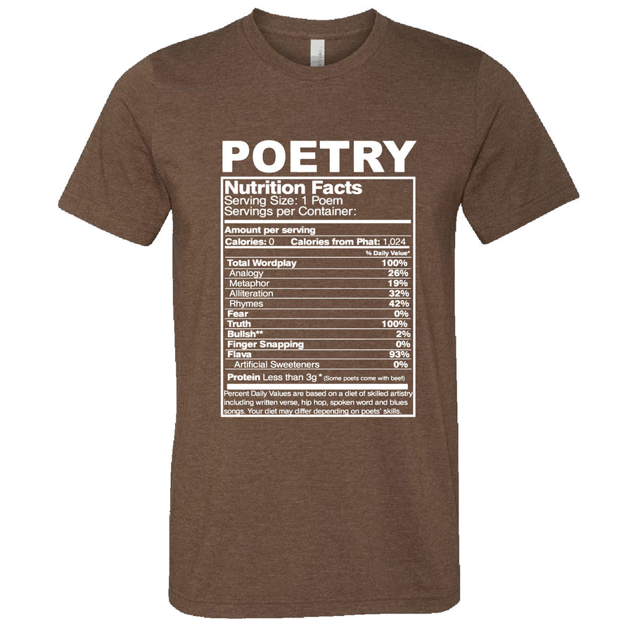Short Sleeve Poetry Mens Tee