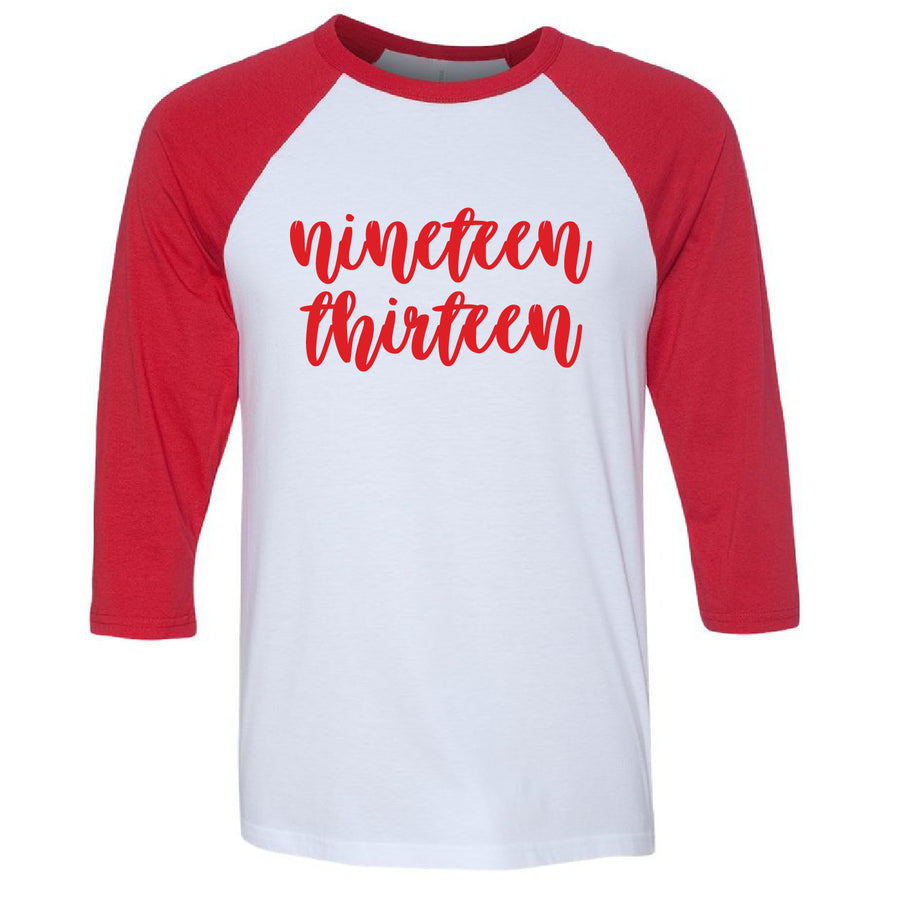 Nineteen Thirteen Baseball Tee