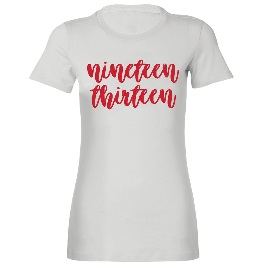 Short Sleeve Ladies Nineteen Thirteen Tee