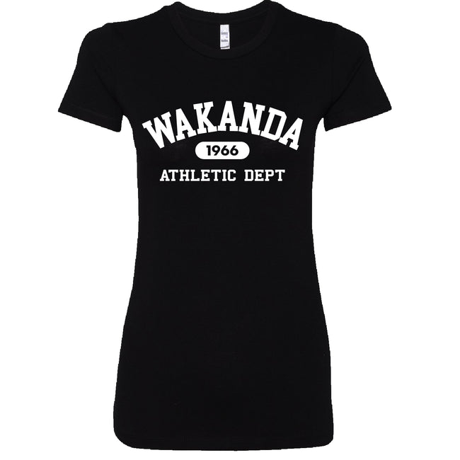 Short Sleeve Wakanda Athletics  Ladies Tee