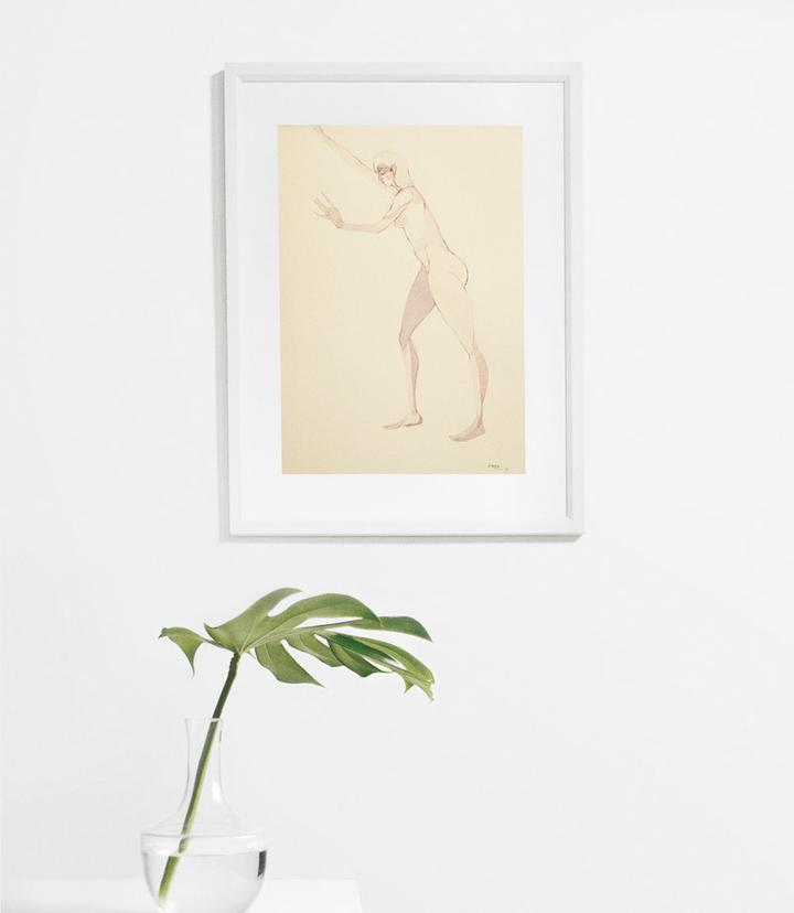 Nude Movement by Aleta Lederwasch - Fine Art Print