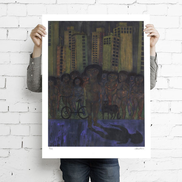 Urban Chaos - Fine Art Print { limited edition }
