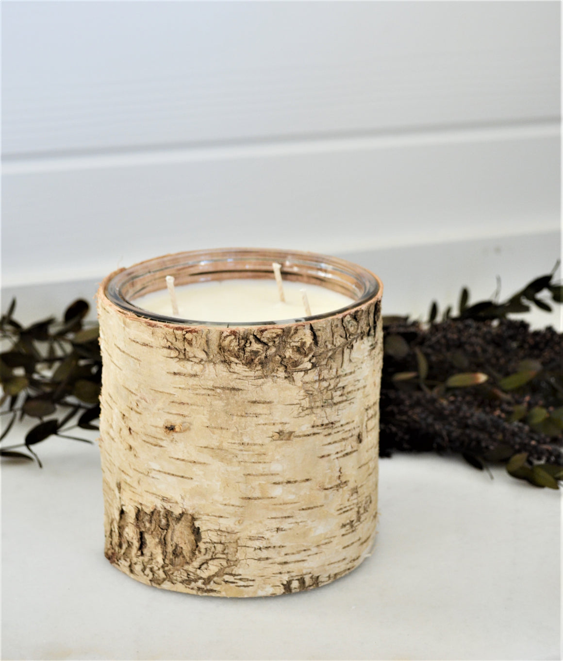 NEW-Birch Tree Candle