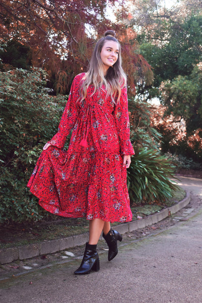 Georgie Midi Dress EARTH SONG