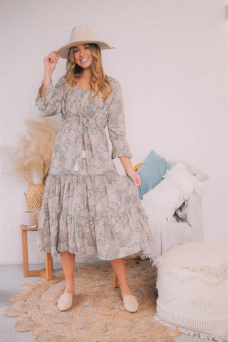 Georgie Midi Dress LOST IN LOVE