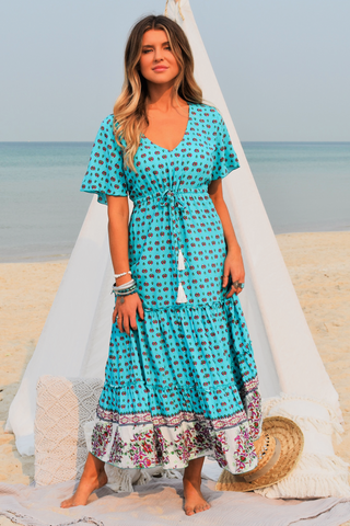 Georgie Midi Dress OCEANIA