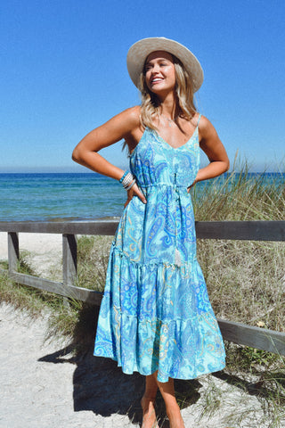 Aurora Dress SEABREEZE