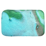 Bath Mats(Tranquil Nights) - JenniPaintings-FoundTreasures