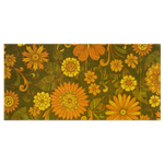 Day of Flowers(Bath Towel) - JenniPaintings-FoundTreasures