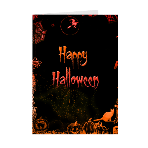 Happy Halloween(Folded Cards)