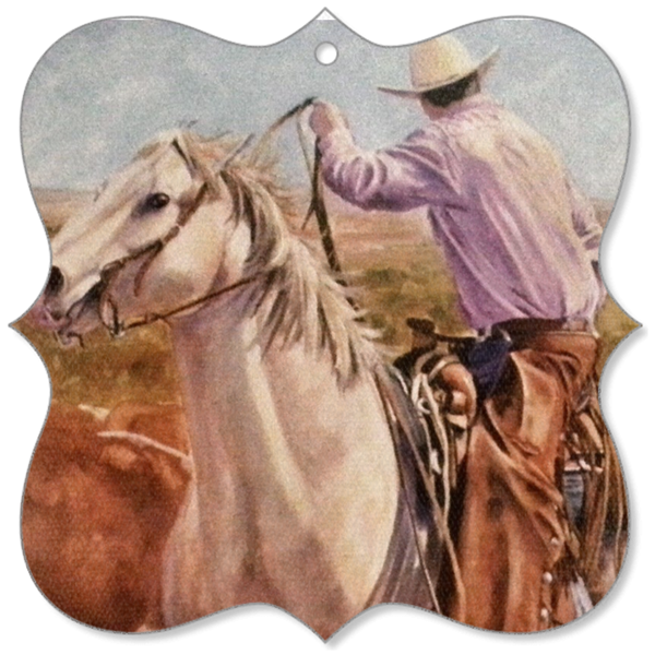 On the Range(Canvas Ornament)