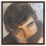 Elvis Inspired(Framed Traditional Stretched Canvas Print) - JenniPaintings-FoundTreasures