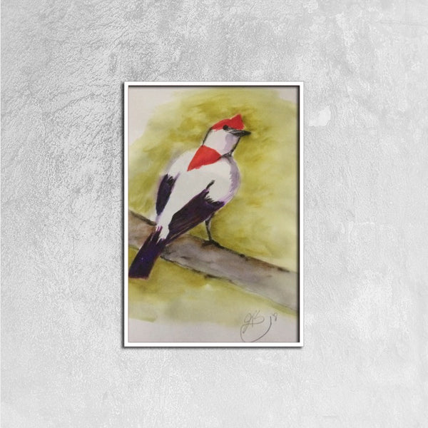 Jungle Bird(Framed Canvas Prints 16ⅹ24 inch) - JenniPaintings-FoundTreasures