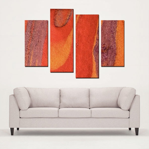 4 Panels Canvas Prints(Semblance illusions) - JenniPaintings-FoundTreasures