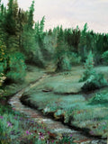 A day at the Creek(Original Paintings) - JenniPaintings-FoundTreasures
