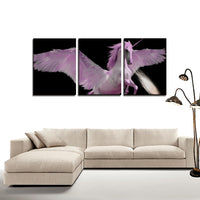3 Panels Canvas Prints(His Force) - JenniPaintings-FoundTreasures