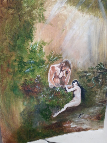 Adam and Eve - JenniPaintings