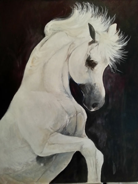Adla Arabian - JenniPaintings(Original Painting)