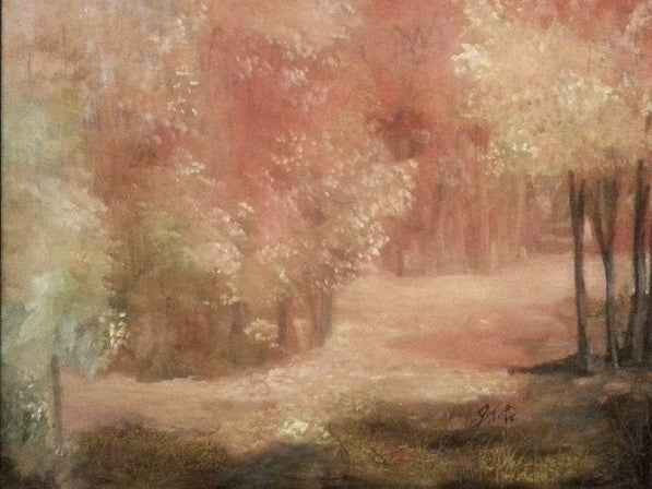 Copa Grande Fall(Original Painting) - JenniPaintings-FoundTreasures