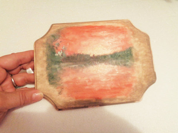Little Pond(Painting on Wood)