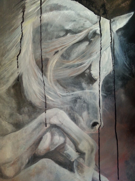 Fourth Horse - JenniPaintings