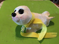 Baby Seal(Clay Baby Figurine) - JenniPaintings-FoundTreasures