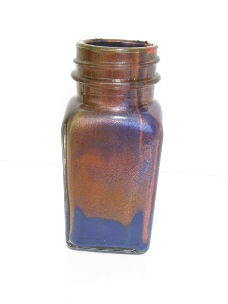 decorative Bottle(Copper Design) - JenniPaintings-FoundTreasures