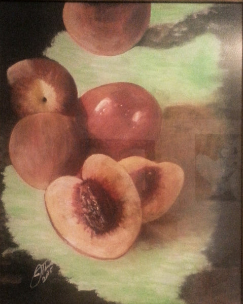 Nectarines - JenniPaintings
