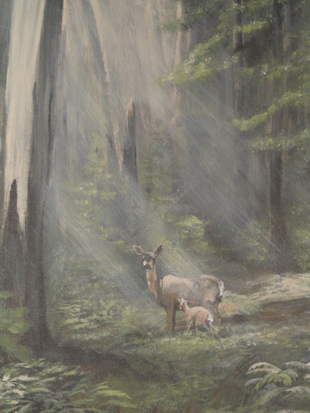 Peaceful Forest - JenniPaintings