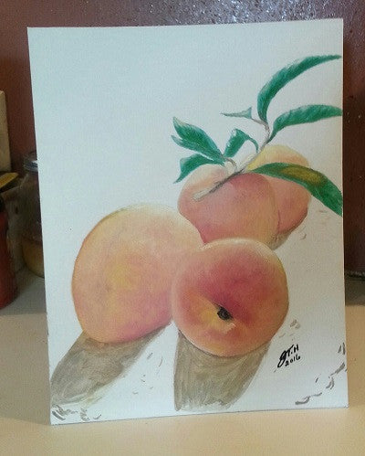Shake Your Peaches - JenniPaintings