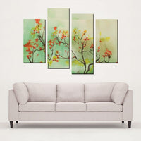 4 Panels Canvas Prints(Autumn Skies) - JenniPaintings-FoundTreasures