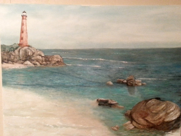 Afternoon Shore - JenniPaintings(Original Painting)