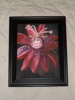Alien Passion Flower(Original Painting) - JenniPaintings