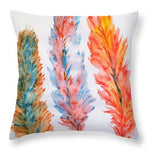 Colors Of A Bird - Throw Pillow