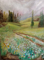 Country Road(Original Painting) - JenniPaintings