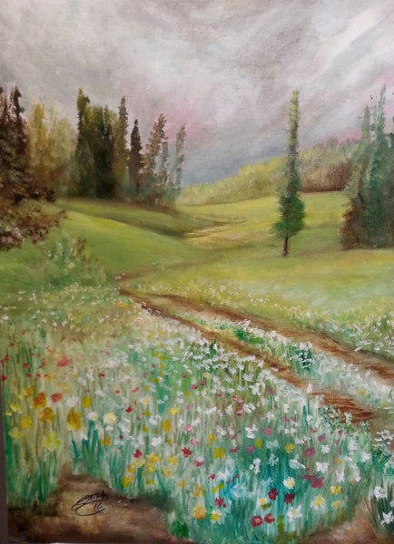 Country Road - JenniPaintings