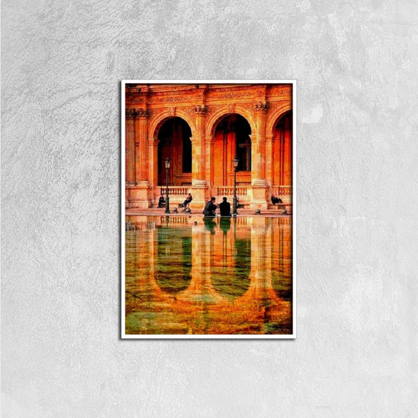 Canvas Prints(Columns of Paris) - JenniPaintings-FoundTreasures