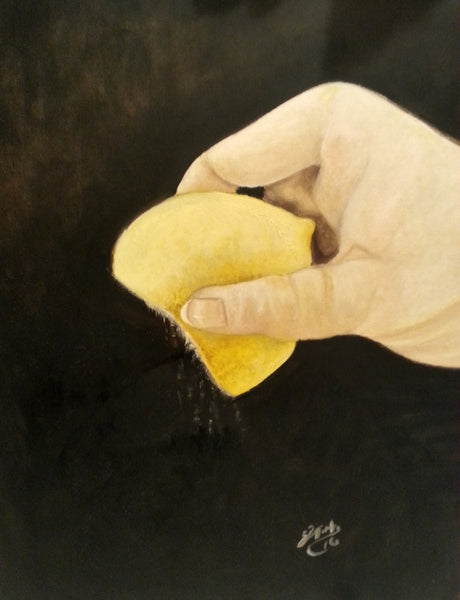Lemon Squeeze - JenniPaintings