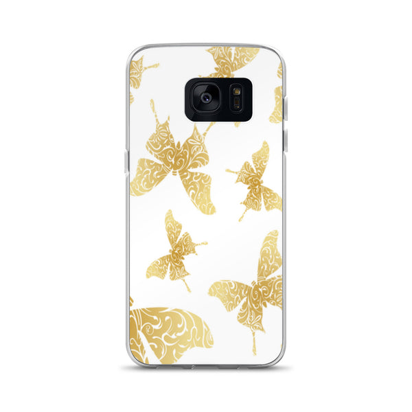 Samsung Case(Gold Butterflies)