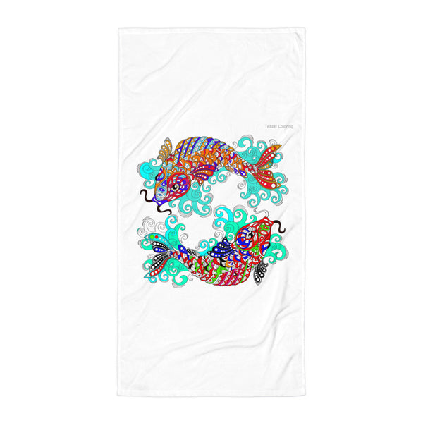 Oriental Fish(Towel)