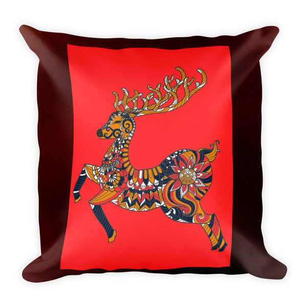 Square Pillow(Reindeer)
