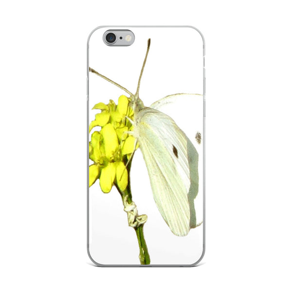 iPhone Case(White Butterfly)