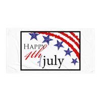 fourth of July(Towel) - JenniPaintings-FoundTreasures