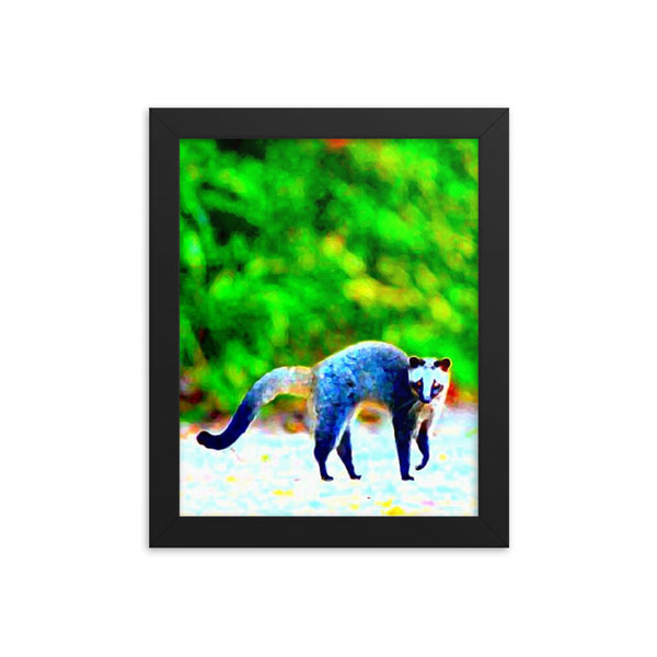 Civet(Framed poster print) - JenniPaintings-FoundTreasures