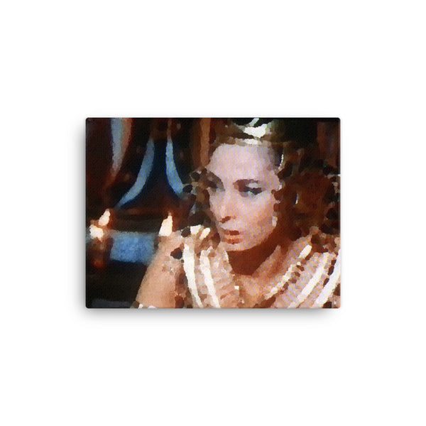 Canvas print (Disgruntled Queen)