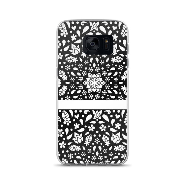 Samsung Case(Black and White)