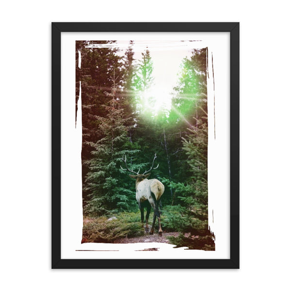 His Crossing(Framed poster prints)